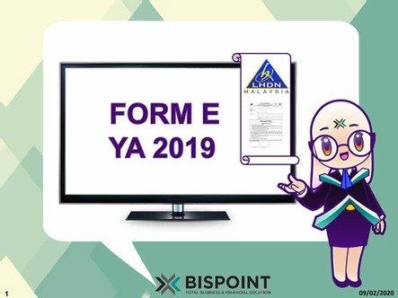 Form E YA2019