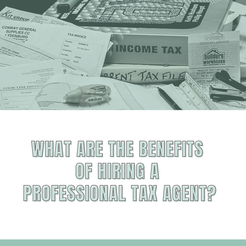 What Are the Benefits of Hiring a Professional Tax Agent?